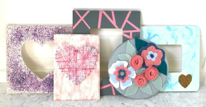 6 easy and cheap valentines kids crafts on wood abbotts - Trabajos manuales desde casa ...